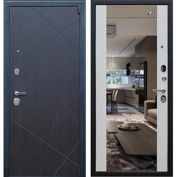 Входная металлическая дверь AСД Вектор с зеркалом