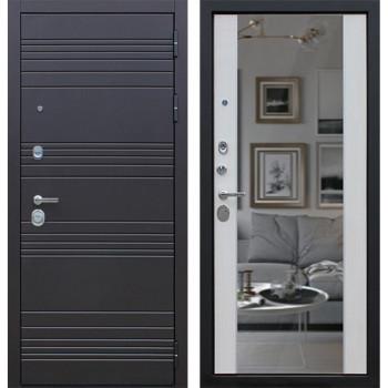 Входная металлическая дверь AСД Дуэт с зеркалом