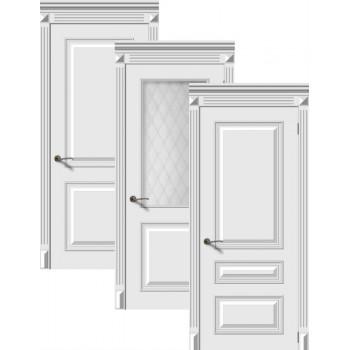 Двери эмаль Багет