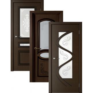 Двери в финиш-пленке