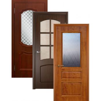 Двери облицованные ПВХ