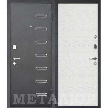 Дверь МеталЮр M29 (Дуб французский сильвер)