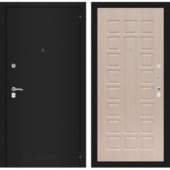 Дверь CLASSIC 04 черная шагрень – Дуб беленый