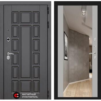 Дверь NEW YORK с Зеркалом – Грей Софт