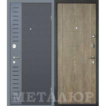 Дверь МеталЮр M28 (Дуб шале натуральный)