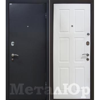 Дверь МеталЮр M21 (белый)