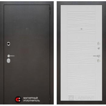 Дверь SILVER 06 – Белое дерево