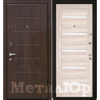 Дверь МеталЮр M7 (капучино мелинга)