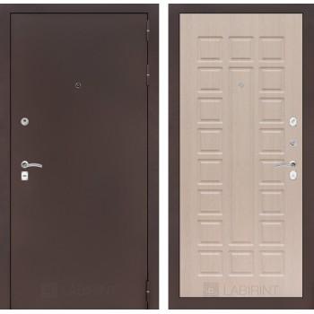 Дверь CLASSIC 04 медный антик – Дуб беленый