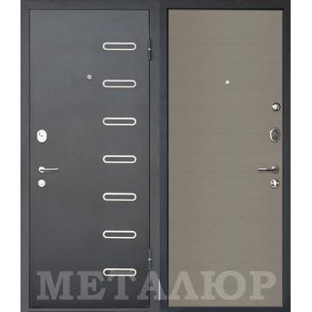 Дверь МеталЮр M29 (Дуб французский серый)