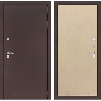 Дверь CLASSIC 05 медный антик – Светлый венге
