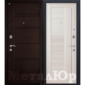 Дверь МеталЮр M17 (эшвайт мелинга)