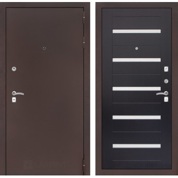 Дверь CLASSIC 01 медный антик – Венге