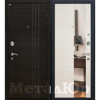 Дверь МеталЮр M15 (эшвайт кроскут)