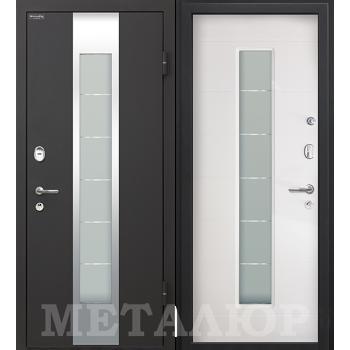 Дверь МеталЮр M35 (белый малибу)