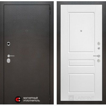 Дверь SILVER 03 – Белый софт
