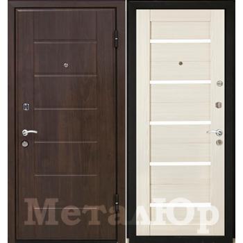 Дверь МеталЮр M7 (эшвайт мелинга)