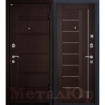 Дверь МеталЮр M17 (венге мелинга)