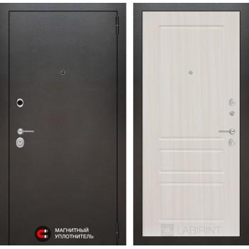 Дверь SILVER 03 – Белый сандал