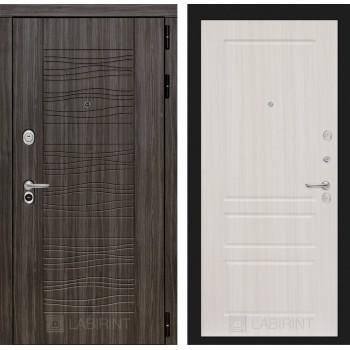 Дверь SCANDI 03 Дарк грей – Сандал белый