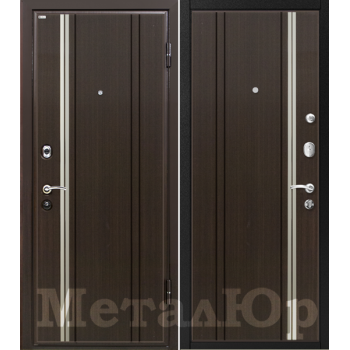 Дверь МеталЮр M2 (венге)