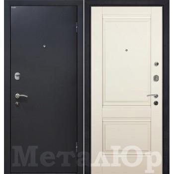 Дверь МеталЮр M41 (магнолия)