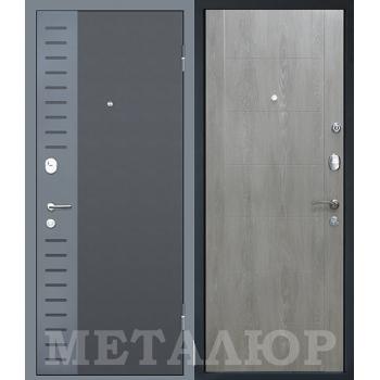 Дверь МеталЮр M28 (Дуб шале седой)