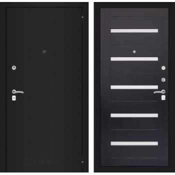 Дверь CLASSIC 01 черная шагрень – Венге