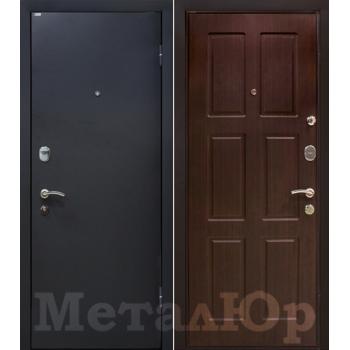 Дверь МеталЮр M21 (венге)