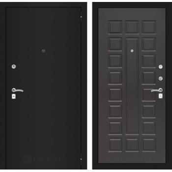Дверь CLASSIC 04 черная шагрень – Венге