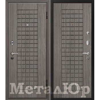 Дверь МеталЮр M4 (графит)