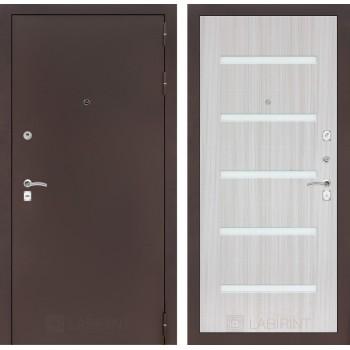 Дверь CLASSIC 01 медный антик – Белый сандал