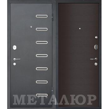 Дверь МеталЮр M29 (Дуб французский темный)