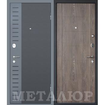 Дверь МеталЮр M28 (Дуб шале корица)