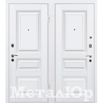 Дверь МеталЮр M11 (белый)