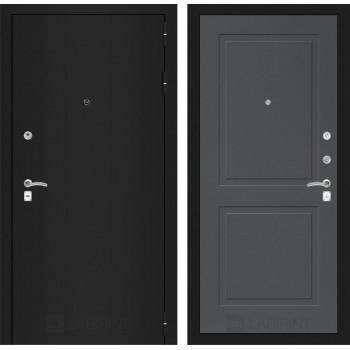 Дверь CLASSIC 11 черная шагрень – Софт графит
