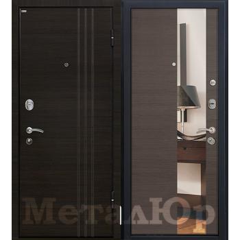 Дверь МеталЮр M15 (грей кроскут)