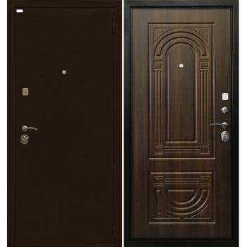 Дверь Ратибор Оптима 3К (орех бренди)