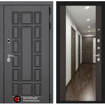 Дверь NEW YORK с Зеркалом – Венге