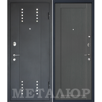Дверь МеталЮр M26 (грувд)