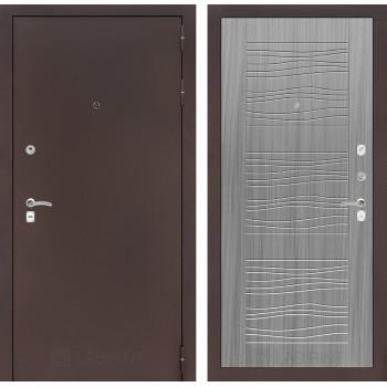 Дверь CLASSIC 06 медный антик – Серый сандал