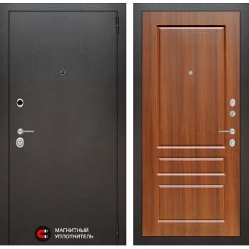 Дверь SILVER 03 – Орех бренди