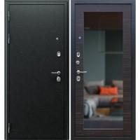 Входная металлическая дверь АСД Next-1 c зеркалом (Венге)