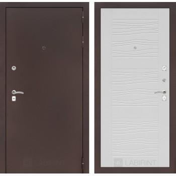 Дверь CLASSIC 06 медный антик – Белое дерево