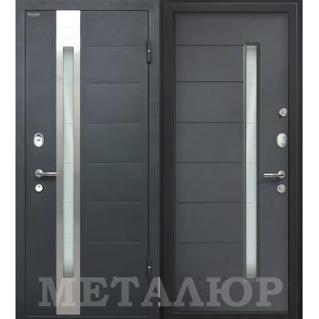 Дверь МеталЮр M36 (антрацит)