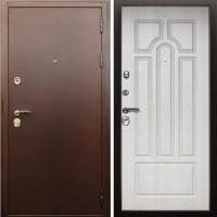 Входная металлическая дверь AСД Прометей (Беленый Дуб)