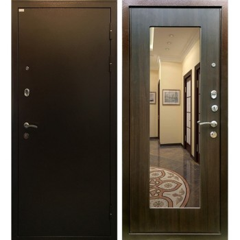 Дверь Ратибор Милан с зеркалом (эко венге)