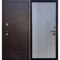 Дверь Ратибор Витраж 3К (лиственница беж)