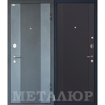 Дверь МеталЮр M27 (антрацит)