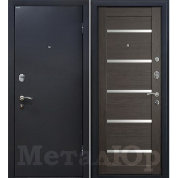 Дверь МеталЮр M41 (грей мелинга)